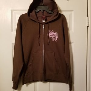 Lucas Oil Apparel Hoodie size Large